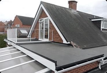 Flat Roofing Derbyshire & Staffordhire