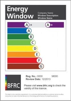 Triple glazing options from carrington windows for Energy rating for windows